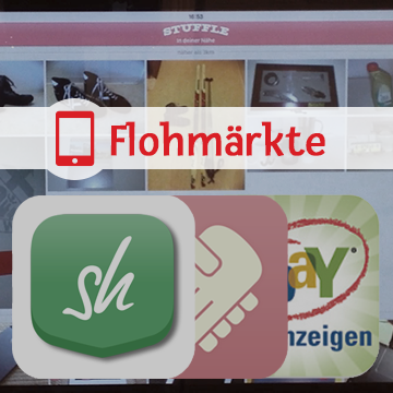 app review flohmarkt apps f r ios und android. Black Bedroom Furniture Sets. Home Design Ideas
